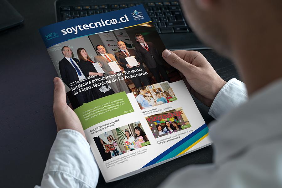Revista SoyTécnico CFT Teodoro Wickel
